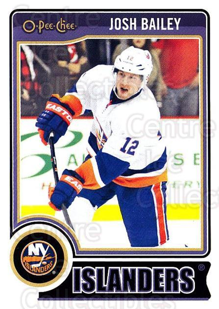 2014-15 O-Pee-chee #475 Josh Bailey<br/>4 In Stock - $1.00 each - <a href=https://centericecollectibles.foxycart.com/cart?name=2014-15%20O-Pee-chee%20%23475%20Josh%20Bailey...&quantity_max=4&price=$1.00&code=688593 class=foxycart> Buy it now! </a>
