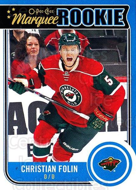 2014-15 O-Pee-chee #537 Christian Folin<br/>3 In Stock - $3.00 each - <a href=https://centericecollectibles.foxycart.com/cart?name=2014-15%20O-Pee-chee%20%23537%20Christian%20Folin...&quantity_max=3&price=$3.00&code=688655 class=foxycart> Buy it now! </a>