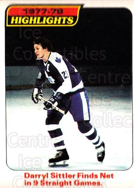 1978-79 O-Pee-Chee #4 Darryl Sittler<br/>1 In Stock - $3.00 each - <a href=https://centericecollectibles.foxycart.com/cart?name=1978-79%20O-Pee-Chee%20%234%20Darryl%20Sittler...&quantity_max=1&price=$3.00&code=688740 class=foxycart> Buy it now! </a>