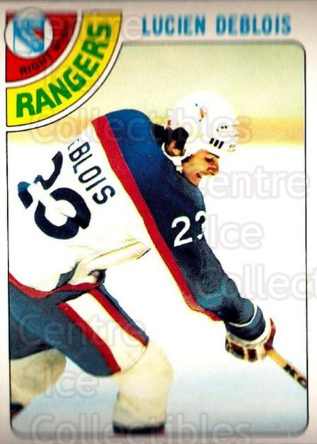 1978-79 O-Pee-Chee #136 Lucien DeBlois<br/>4 In Stock - $2.00 each - <a href=https://centericecollectibles.foxycart.com/cart?name=1978-79%20O-Pee-Chee%20%23136%20Lucien%20DeBlois...&quantity_max=4&price=$2.00&code=688872 class=foxycart> Buy it now! </a>