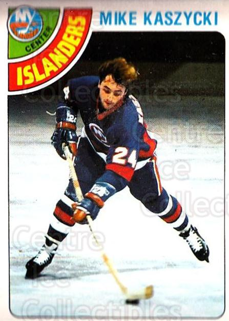 <a href=index.aspx?SetName=1978-79%20O-Pee-Chee>1978-79 O-Pee-Chee</a> #171 <a href=index.aspx?PlayerName=Mike%20Kaszycki> Mike Kaszycki</a><br/>1 in stock - $1.00 each - <a href=https://centericecollectibles.foxycart.com/cart?name=1978-79%20O-Pee-Chee%20%23171%20Mike%20Kaszycki...&price=$1.00&code=688907 class=foxycart> Buy it now! </a>
