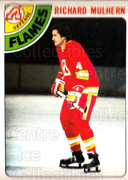 1978-79 O-Pee-Chee #256 Richard Mulhern<br/>7 In Stock - $2.00 each - <a href=https://centericecollectibles.foxycart.com/cart?name=1978-79%20O-Pee-Chee%20%23256%20Richard%20Mulhern...&quantity_max=7&price=$2.00&code=688992 class=foxycart> Buy it now! </a>