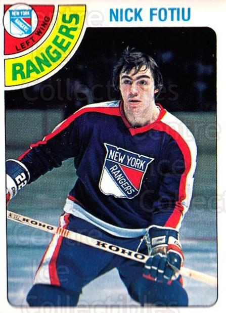 1978-79 O-Pee-Chee #367 Nick Fotiu<br/>1 In Stock - $2.00 each - <a href=https://centericecollectibles.foxycart.com/cart?name=1978-79%20O-Pee-Chee%20%23367%20Nick%20Fotiu...&quantity_max=1&price=$2.00&code=689103 class=foxycart> Buy it now! </a>