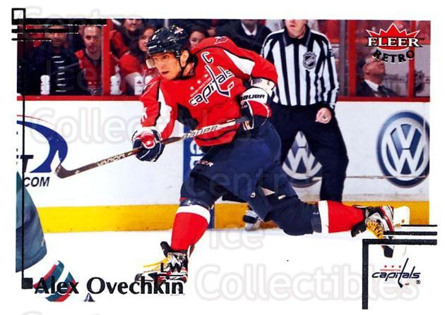 2012-13 Fleer Retro #4 Alexander Ovechkin<br/>4 In Stock - $2.00 each - <a href=https://centericecollectibles.foxycart.com/cart?name=2012-13%20Fleer%20Retro%20%234%20Alexander%20Ovech...&price=$2.00&code=689336 class=foxycart> Buy it now! </a>