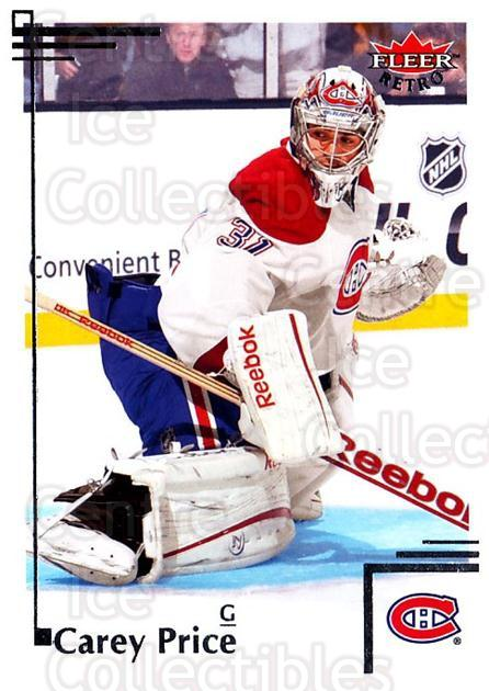 2012-13 Fleer Retro #51 Carey Price<br/>4 In Stock - $3.00 each - <a href=https://centericecollectibles.foxycart.com/cart?name=2012-13%20Fleer%20Retro%20%2351%20Carey%20Price...&price=$3.00&code=689383 class=foxycart> Buy it now! </a>
