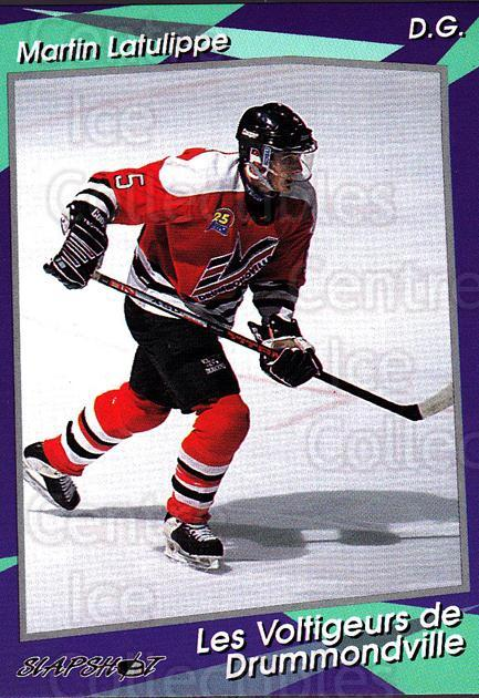 1993-94 Drummondville Voltigeurs #5 Martin Latulippe<br/>4 In Stock - $3.00 each - <a href=https://centericecollectibles.foxycart.com/cart?name=1993-94%20Drummondville%20Voltigeurs%20%235%20Martin%20Latulipp...&price=$3.00&code=6893 class=foxycart> Buy it now! </a>