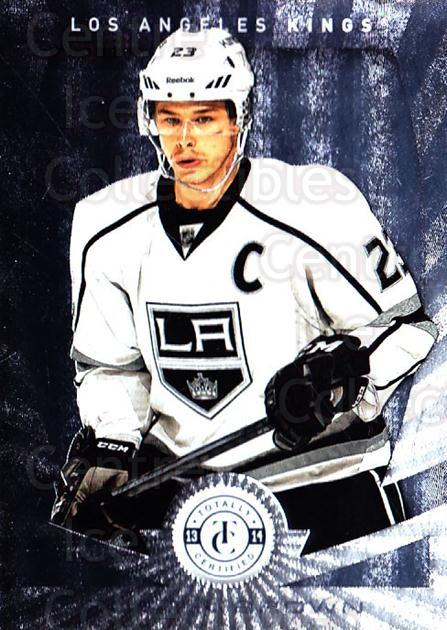 2013-14 Totally Certified #121 Dustin Brown<br/>1 In Stock - $1.00 each - <a href=https://centericecollectibles.foxycart.com/cart?name=2013-14%20Totally%20Certified%20%23121%20Dustin%20Brown...&quantity_max=1&price=$1.00&code=689553 class=foxycart> Buy it now! </a>