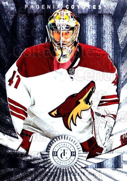2013-14 Totally Certified #133 Mike Smith<br/>1 In Stock - $1.00 each - <a href=https://centericecollectibles.foxycart.com/cart?name=2013-14%20Totally%20Certified%20%23133%20Mike%20Smith...&quantity_max=1&price=$1.00&code=689565 class=foxycart> Buy it now! </a>