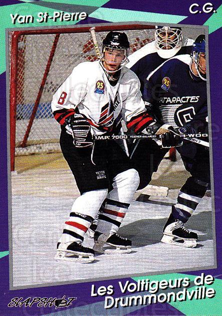 1993-94 Drummondville Voltigeurs #8 Yan St.Pierre<br/>2 In Stock - $3.00 each - <a href=https://centericecollectibles.foxycart.com/cart?name=1993-94%20Drummondville%20Voltigeurs%20%238%20Yan%20St.Pierre...&price=$3.00&code=6896 class=foxycart> Buy it now! </a>