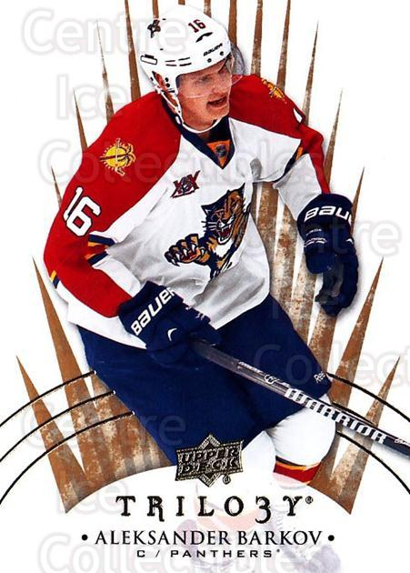2014-15 UD Trilogy #55 Aleksander Barkov<br/>1 In Stock - $1.00 each - <a href=https://centericecollectibles.foxycart.com/cart?name=2014-15%20UD%20Trilogy%20%2355%20Aleksander%20Bark...&quantity_max=1&price=$1.00&code=689788 class=foxycart> Buy it now! </a>