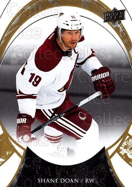 2015-16 UD Trilogy #4 Shane Doan<br/>1 In Stock - $1.00 each - <a href=https://centericecollectibles.foxycart.com/cart?name=2015-16%20UD%20Trilogy%20%234%20Shane%20Doan...&quantity_max=1&price=$1.00&code=689937 class=foxycart> Buy it now! </a>