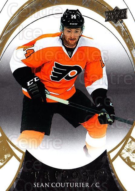 2015-16 UD Trilogy #64 Sean Couturier<br/>1 In Stock - $1.00 each - <a href=https://centericecollectibles.foxycart.com/cart?name=2015-16%20UD%20Trilogy%20%2364%20Sean%20Couturier...&quantity_max=1&price=$1.00&code=689997 class=foxycart> Buy it now! </a>