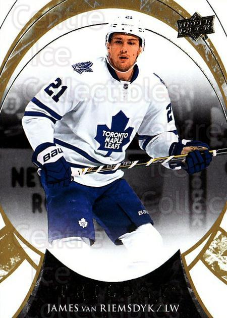 2015-16 UD Trilogy #80 James van Riemsdyk<br/>1 In Stock - $1.00 each - <a href=https://centericecollectibles.foxycart.com/cart?name=2015-16%20UD%20Trilogy%20%2380%20James%20van%20Riems...&quantity_max=1&price=$1.00&code=690013 class=foxycart> Buy it now! </a>