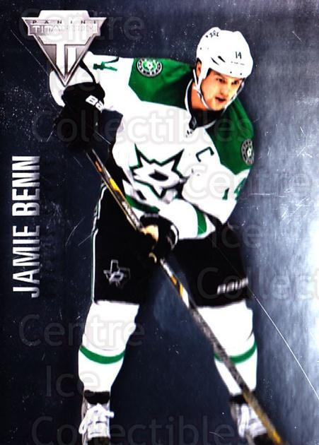 2013-14 Titanium #43 Jamie Benn<br/>3 In Stock - $1.00 each - <a href=https://centericecollectibles.foxycart.com/cart?name=2013-14%20Titanium%20%2343%20Jamie%20Benn...&quantity_max=3&price=$1.00&code=690206 class=foxycart> Buy it now! </a>