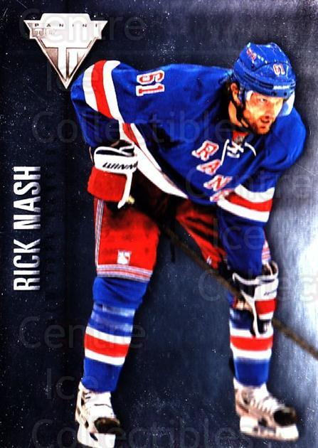2013-14 Titanium #81 Rick Nash<br/>3 In Stock - $1.00 each - <a href=https://centericecollectibles.foxycart.com/cart?name=2013-14%20Titanium%20%2381%20Rick%20Nash...&quantity_max=3&price=$1.00&code=690244 class=foxycart> Buy it now! </a>