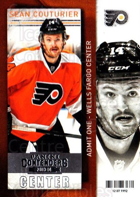2013-14 Panini Contenders #75 Sean Couturier<br/>7 In Stock - $1.00 each - <a href=https://centericecollectibles.foxycart.com/cart?name=2013-14%20Panini%20Contenders%20%2375%20Sean%20Couturier...&quantity_max=7&price=$1.00&code=690556 class=foxycart> Buy it now! </a>