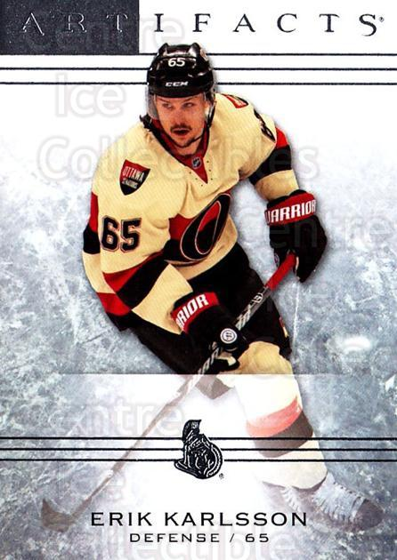 2014-15 UD Artifacts #78 Erik Karlsson<br/>4 In Stock - $2.00 each - <a href=https://centericecollectibles.foxycart.com/cart?name=2014-15%20UD%20Artifacts%20%2378%20Erik%20Karlsson...&quantity_max=4&price=$2.00&code=690933 class=foxycart> Buy it now! </a>
