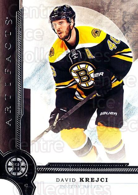 2016-17 UD Artifacts #52 David Krejci<br/>2 In Stock - $1.00 each - <a href=https://centericecollectibles.foxycart.com/cart?name=2016-17%20UD%20Artifacts%20%2352%20David%20Krejci...&quantity_max=2&price=$1.00&code=691099 class=foxycart> Buy it now! </a>