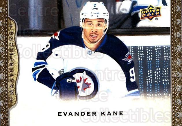 2014-15 UD Masterpieces #2 Evander Kane<br/>5 In Stock - $2.00 each - <a href=https://centericecollectibles.foxycart.com/cart?name=2014-15%20UD%20Masterpieces%20%232%20Evander%20Kane...&quantity_max=5&price=$2.00&code=691229 class=foxycart> Buy it now! </a>
