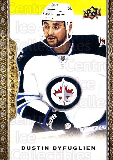 2014-15 UD Masterpieces #6 Dustin Byfuglien<br/>5 In Stock - $2.00 each - <a href=https://centericecollectibles.foxycart.com/cart?name=2014-15%20UD%20Masterpieces%20%236%20Dustin%20Byfuglie...&quantity_max=5&price=$2.00&code=691233 class=foxycart> Buy it now! </a>
