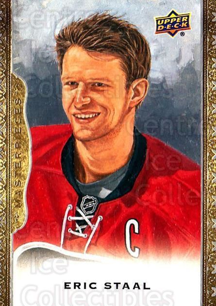 2014-15 UD Masterpieces #7 Eric Staal<br/>5 In Stock - $2.00 each - <a href=https://centericecollectibles.foxycart.com/cart?name=2014-15%20UD%20Masterpieces%20%237%20Eric%20Staal...&quantity_max=5&price=$2.00&code=691234 class=foxycart> Buy it now! </a>