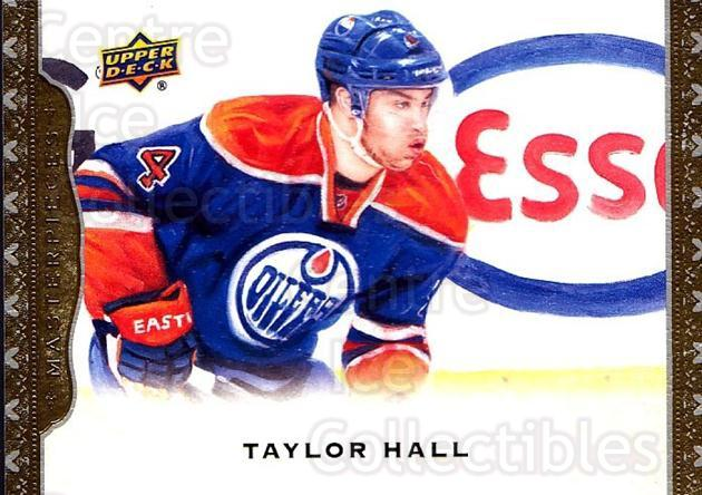 2014-15 UD Masterpieces #14 Taylor Hall<br/>4 In Stock - $2.00 each - <a href=https://centericecollectibles.foxycart.com/cart?name=2014-15%20UD%20Masterpieces%20%2314%20Taylor%20Hall...&quantity_max=4&price=$2.00&code=691241 class=foxycart> Buy it now! </a>