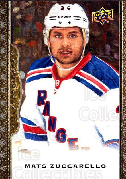 2014-15 UD Masterpieces #22 Mats Zuccarello<br/>3 In Stock - $2.00 each - <a href=https://centericecollectibles.foxycart.com/cart?name=2014-15%20UD%20Masterpieces%20%2322%20Mats%20Zuccarello...&quantity_max=3&price=$2.00&code=691249 class=foxycart> Buy it now! </a>
