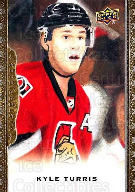 2014-15 UD Masterpieces #24 Kyle Turris<br/>5 In Stock - $2.00 each - <a href=https://centericecollectibles.foxycart.com/cart?name=2014-15%20UD%20Masterpieces%20%2324%20Kyle%20Turris...&quantity_max=5&price=$2.00&code=691251 class=foxycart> Buy it now! </a>