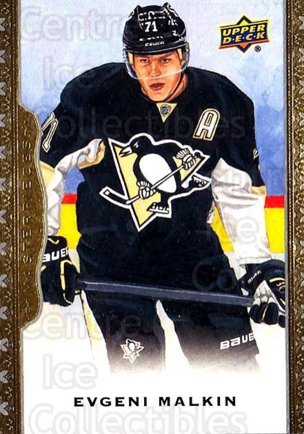 2014-15 UD Masterpieces #26 Evgeni Malkin<br/>4 In Stock - $2.00 each - <a href=https://centericecollectibles.foxycart.com/cart?name=2014-15%20UD%20Masterpieces%20%2326%20Evgeni%20Malkin...&quantity_max=4&price=$2.00&code=691253 class=foxycart> Buy it now! </a>
