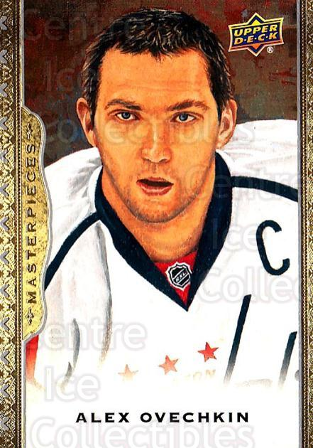 2014-15 UD Masterpieces #31 Alexander Ovechkin<br/>1 In Stock - $3.00 each - <a href=https://centericecollectibles.foxycart.com/cart?name=2014-15%20UD%20Masterpieces%20%2331%20Alexander%20Ovech...&price=$3.00&code=691258 class=foxycart> Buy it now! </a>