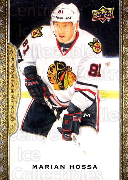 2014-15 UD Masterpieces #33 Marian Hossa<br/>4 In Stock - $2.00 each - <a href=https://centericecollectibles.foxycart.com/cart?name=2014-15%20UD%20Masterpieces%20%2333%20Marian%20Hossa...&quantity_max=4&price=$2.00&code=691260 class=foxycart> Buy it now! </a>