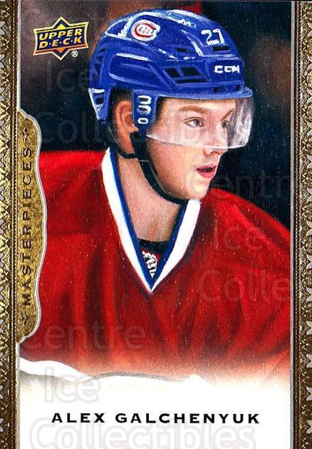 2014-15 UD Masterpieces #36 Alex Galchenyuk<br/>3 In Stock - $2.00 each - <a href=https://centericecollectibles.foxycart.com/cart?name=2014-15%20UD%20Masterpieces%20%2336%20Alex%20Galchenyuk...&quantity_max=3&price=$2.00&code=691263 class=foxycart> Buy it now! </a>
