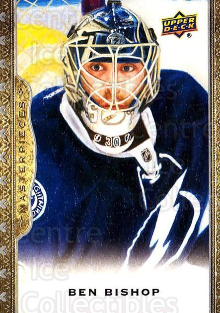 2014-15 UD Masterpieces #39 Ben Bishop<br/>5 In Stock - $2.00 each - <a href=https://centericecollectibles.foxycart.com/cart?name=2014-15%20UD%20Masterpieces%20%2339%20Ben%20Bishop...&quantity_max=5&price=$2.00&code=691266 class=foxycart> Buy it now! </a>