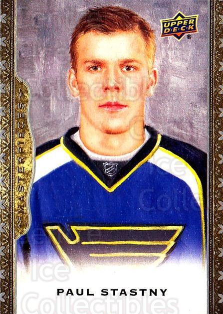 2014-15 UD Masterpieces #42 Paul Stastny<br/>5 In Stock - $2.00 each - <a href=https://centericecollectibles.foxycart.com/cart?name=2014-15%20UD%20Masterpieces%20%2342%20Paul%20Stastny...&quantity_max=5&price=$2.00&code=691269 class=foxycart> Buy it now! </a>