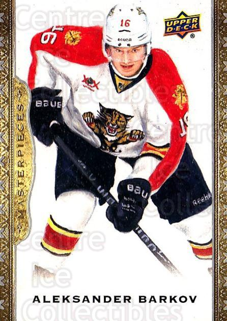 2014-15 UD Masterpieces #53 Aleksander Barkov<br/>4 In Stock - $2.00 each - <a href=https://centericecollectibles.foxycart.com/cart?name=2014-15%20UD%20Masterpieces%20%2353%20Aleksander%20Bark...&quantity_max=4&price=$2.00&code=691280 class=foxycart> Buy it now! </a>