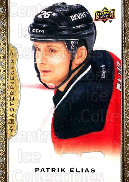 2014-15 UD Masterpieces #54 Patrik Elias<br/>4 In Stock - $2.00 each - <a href=https://centericecollectibles.foxycart.com/cart?name=2014-15%20UD%20Masterpieces%20%2354%20Patrik%20Elias...&quantity_max=4&price=$2.00&code=691281 class=foxycart> Buy it now! </a>