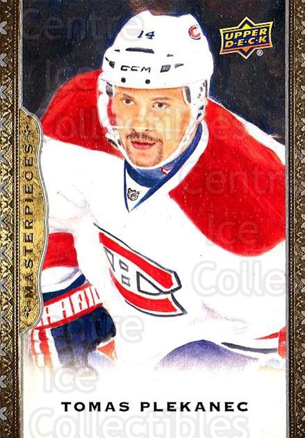 2014-15 UD Masterpieces #60 Tomas Plekanec<br/>4 In Stock - $2.00 each - <a href=https://centericecollectibles.foxycart.com/cart?name=2014-15%20UD%20Masterpieces%20%2360%20Tomas%20Plekanec...&quantity_max=4&price=$2.00&code=691287 class=foxycart> Buy it now! </a>
