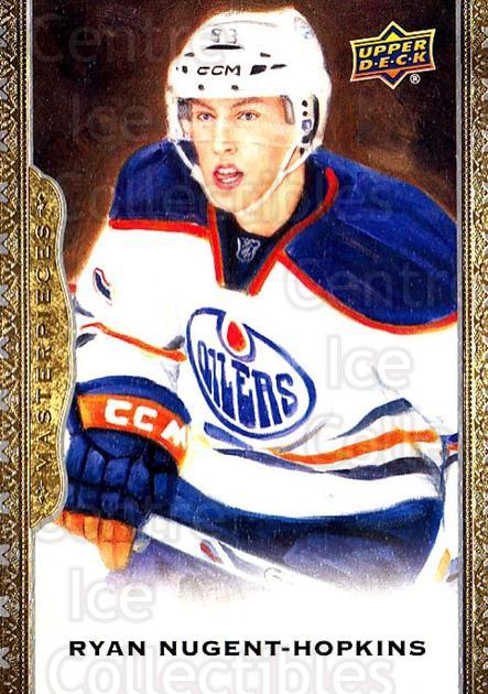 2014-15 UD Masterpieces #61 Ryan Nugent-Hopkins<br/>5 In Stock - $2.00 each - <a href=https://centericecollectibles.foxycart.com/cart?name=2014-15%20UD%20Masterpieces%20%2361%20Ryan%20Nugent-Hop...&quantity_max=5&price=$2.00&code=691288 class=foxycart> Buy it now! </a>