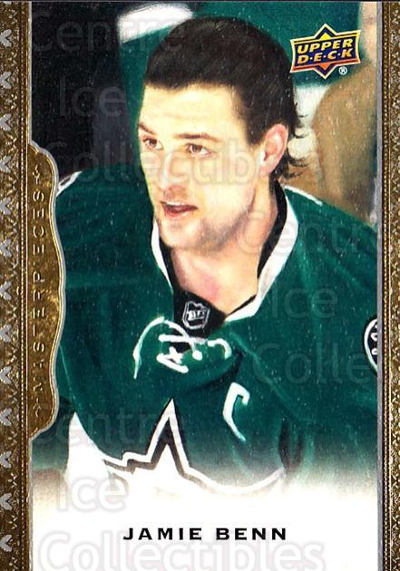 2014-15 UD Masterpieces #62 Jamie Benn<br/>4 In Stock - $2.00 each - <a href=https://centericecollectibles.foxycart.com/cart?name=2014-15%20UD%20Masterpieces%20%2362%20Jamie%20Benn...&quantity_max=4&price=$2.00&code=691289 class=foxycart> Buy it now! </a>