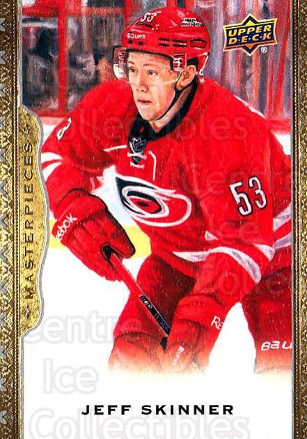 2014-15 UD Masterpieces #63 Jeff Skinner<br/>3 In Stock - $2.00 each - <a href=https://centericecollectibles.foxycart.com/cart?name=2014-15%20UD%20Masterpieces%20%2363%20Jeff%20Skinner...&quantity_max=3&price=$2.00&code=691290 class=foxycart> Buy it now! </a>