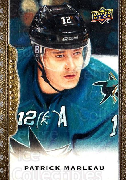 2014-15 UD Masterpieces #66 Patrick Marleau<br/>4 In Stock - $2.00 each - <a href=https://centericecollectibles.foxycart.com/cart?name=2014-15%20UD%20Masterpieces%20%2366%20Patrick%20Marleau...&quantity_max=4&price=$2.00&code=691293 class=foxycart> Buy it now! </a>