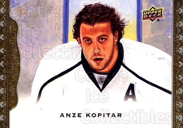 2014-15 UD Masterpieces #70 Anze Kopitar<br/>5 In Stock - $2.00 each - <a href=https://centericecollectibles.foxycart.com/cart?name=2014-15%20UD%20Masterpieces%20%2370%20Anze%20Kopitar...&quantity_max=5&price=$2.00&code=691297 class=foxycart> Buy it now! </a>