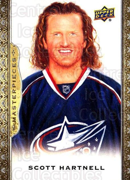 2014-15 UD Masterpieces #74 Scott Hartnell<br/>5 In Stock - $2.00 each - <a href=https://centericecollectibles.foxycart.com/cart?name=2014-15%20UD%20Masterpieces%20%2374%20Scott%20Hartnell...&quantity_max=5&price=$2.00&code=691301 class=foxycart> Buy it now! </a>