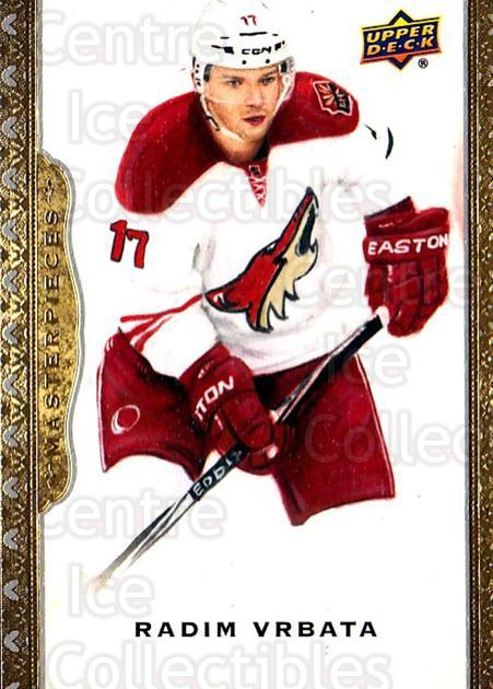 2014-15 UD Masterpieces #80 Radim Vrbata<br/>4 In Stock - $2.00 each - <a href=https://centericecollectibles.foxycart.com/cart?name=2014-15%20UD%20Masterpieces%20%2380%20Radim%20Vrbata...&quantity_max=4&price=$2.00&code=691307 class=foxycart> Buy it now! </a>