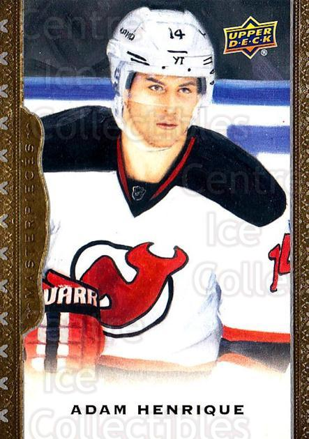 2014-15 UD Masterpieces #84 Adam Henrique<br/>4 In Stock - $2.00 each - <a href=https://centericecollectibles.foxycart.com/cart?name=2014-15%20UD%20Masterpieces%20%2384%20Adam%20Henrique...&quantity_max=4&price=$2.00&code=691311 class=foxycart> Buy it now! </a>