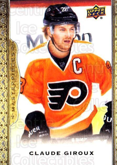 2014-15 UD Masterpieces #98 Claude Giroux<br/>3 In Stock - $3.00 each - <a href=https://centericecollectibles.foxycart.com/cart?name=2014-15%20UD%20Masterpieces%20%2398%20Claude%20Giroux...&quantity_max=3&price=$3.00&code=691325 class=foxycart> Buy it now! </a>