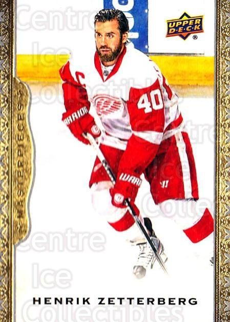 2014-15 UD Masterpieces #112 Henrik Zetterberg<br/>3 In Stock - $3.00 each - <a href=https://centericecollectibles.foxycart.com/cart?name=2014-15%20UD%20Masterpieces%20%23112%20Henrik%20Zetterbe...&quantity_max=3&price=$3.00&code=691339 class=foxycart> Buy it now! </a>
