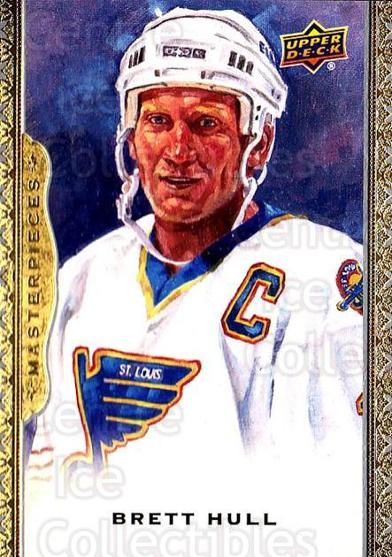2014-15 UD Masterpieces #116 Brett Hull<br/>1 In Stock - $3.00 each - <a href=https://centericecollectibles.foxycart.com/cart?name=2014-15%20UD%20Masterpieces%20%23116%20Brett%20Hull...&quantity_max=1&price=$3.00&code=691343 class=foxycart> Buy it now! </a>