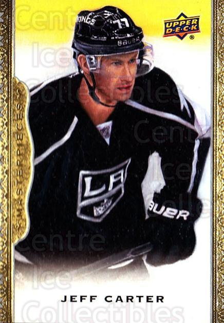 2014-15 UD Masterpieces #127 Jeff Carter<br/>3 In Stock - $3.00 each - <a href=https://centericecollectibles.foxycart.com/cart?name=2014-15%20UD%20Masterpieces%20%23127%20Jeff%20Carter...&quantity_max=3&price=$3.00&code=691354 class=foxycart> Buy it now! </a>
