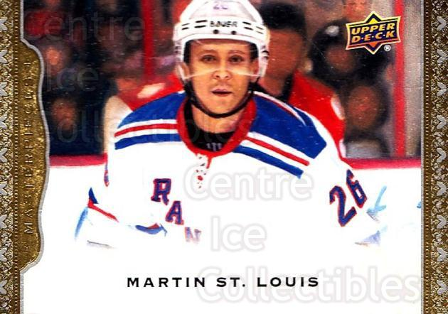 2014-15 UD Masterpieces #130 Martin St. Louis<br/>1 In Stock - $3.00 each - <a href=https://centericecollectibles.foxycart.com/cart?name=2014-15%20UD%20Masterpieces%20%23130%20Martin%20St.%20Loui...&quantity_max=1&price=$3.00&code=691357 class=foxycart> Buy it now! </a>